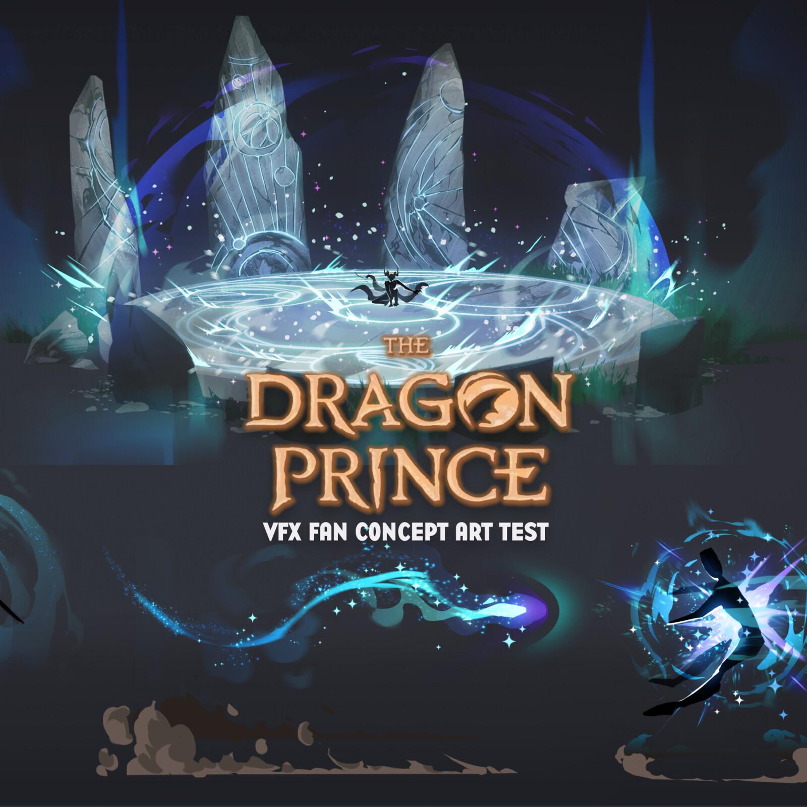 Dragon Prince VFX Concept
