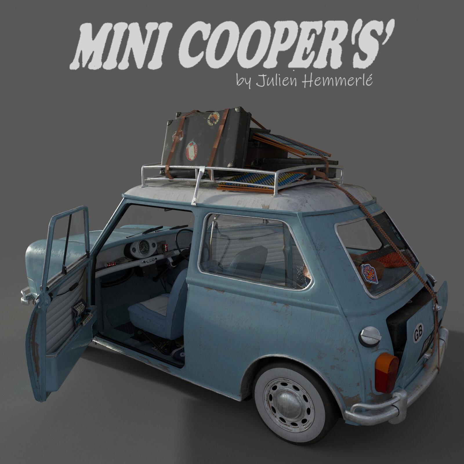 Morris Cooper S - Austin Mini