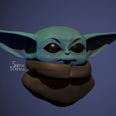 The Child 3D Model (Fan Art)