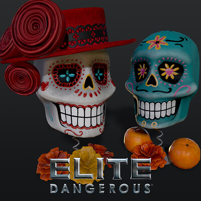 Day Of The Dead Bobble-Heads