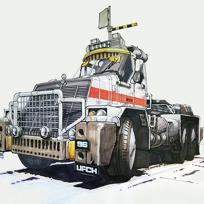 Paul adams paul adams truck