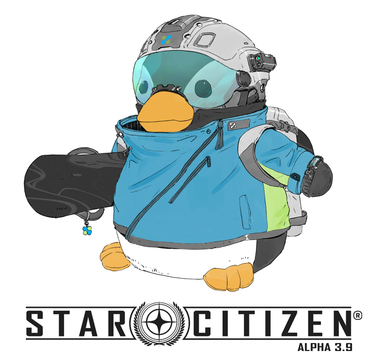 Star Citizen - Microtech art dump