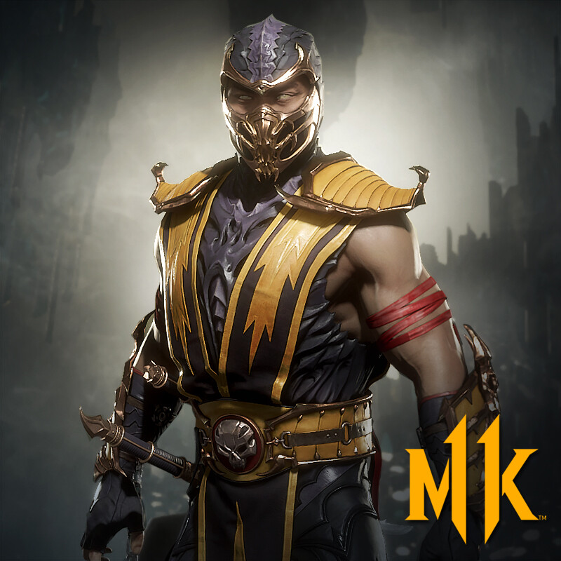 Scorpion MK9 Skin (Mortal Kombat 11 Aftermath)
