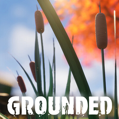 Grounded - Cattail plants