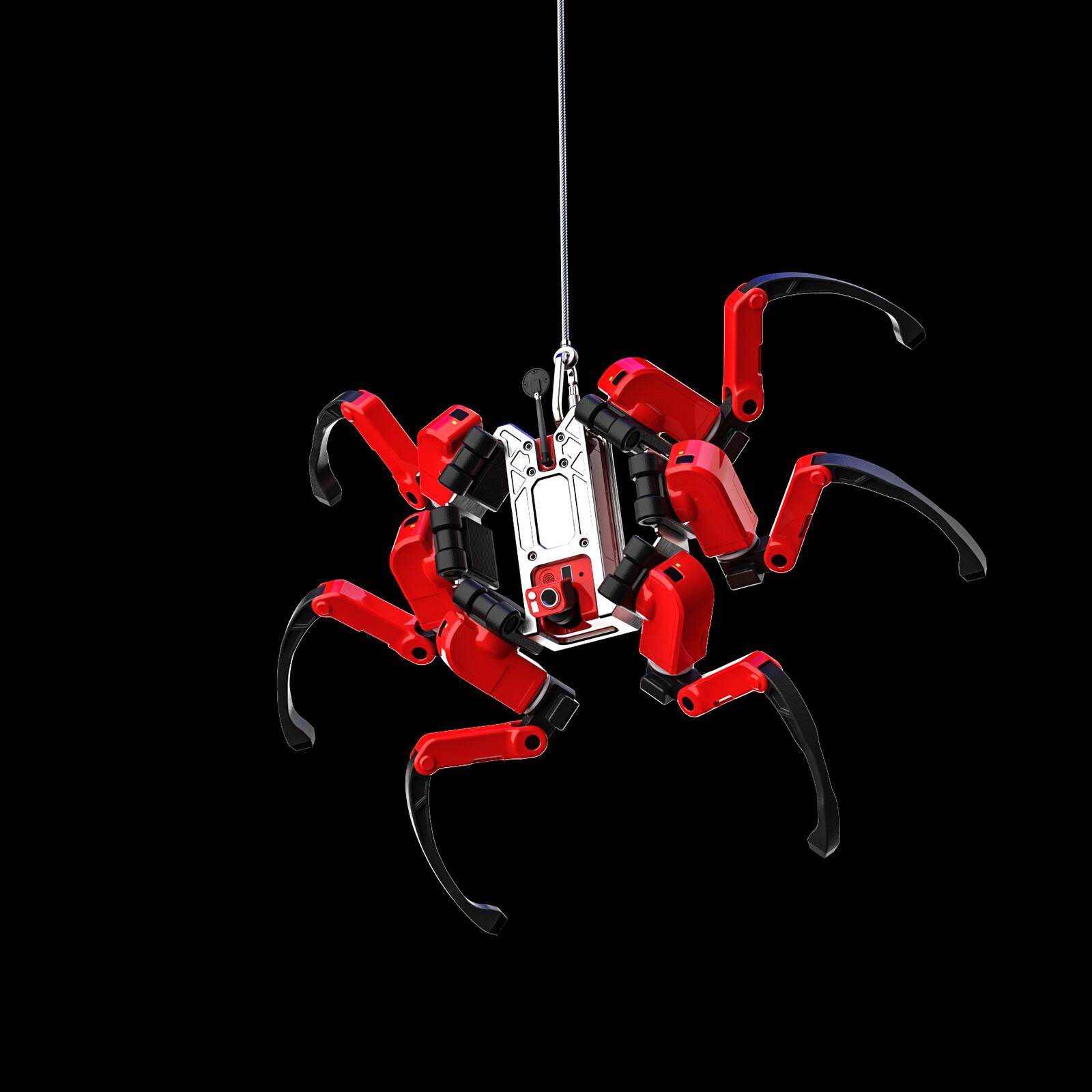Spider Rescue Robot
