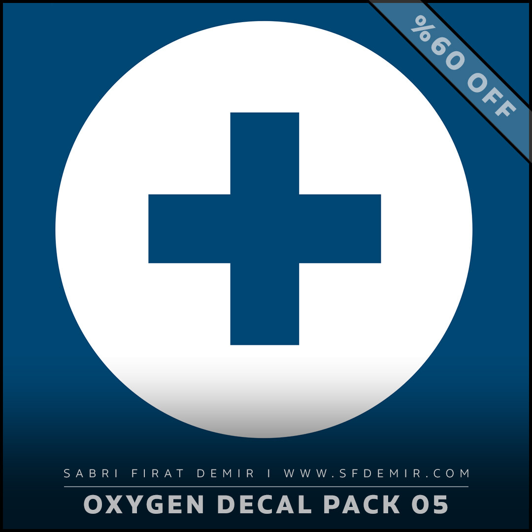 Oxygen Alpha - Decal Map Series 05