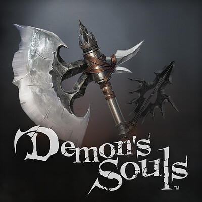 Alex lazar alex lazar demon s souls axe and spear thumbnail