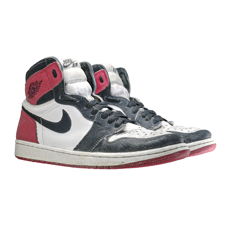 Jordan 1 Black Toe 2016 3D Scan