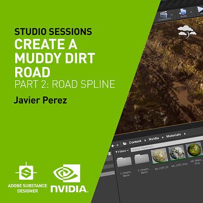NVIDIA| Create a Muddy Dirt Road Part 2: Road Spline