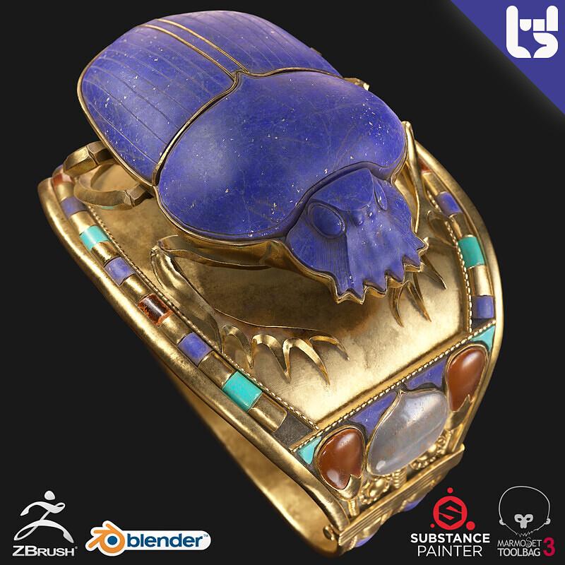 Models: Egyptian Bracelet