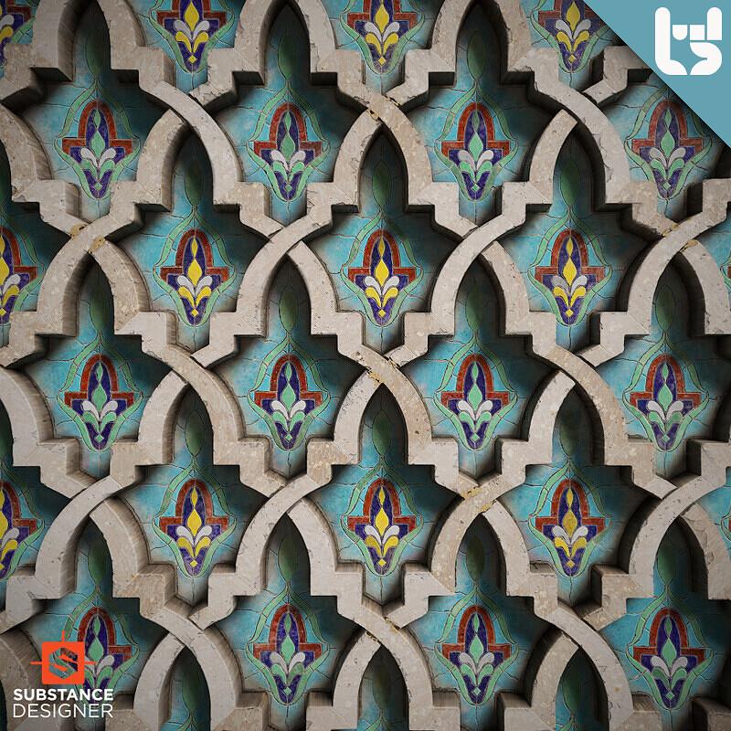 Material study: Moroccan Tiles