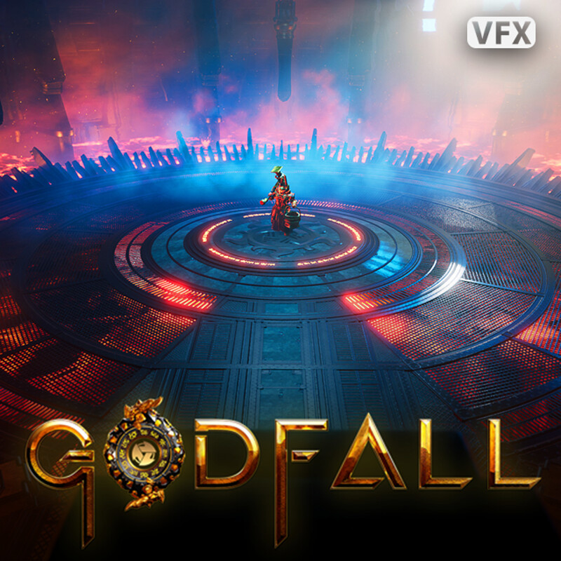 Godfall: Grieves Sunsteel Arena VFX