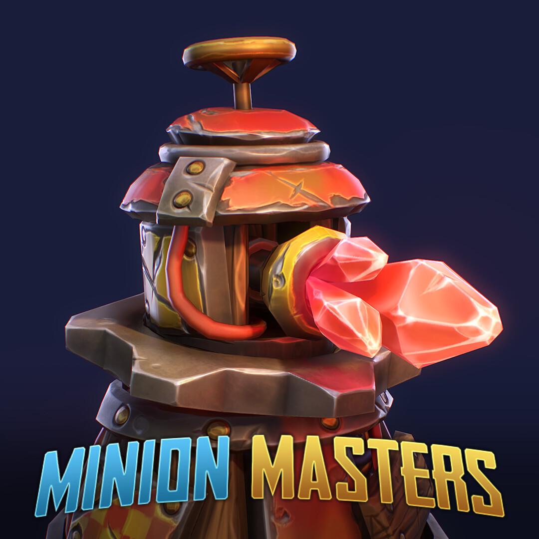 Minion Masters - Laser Turret