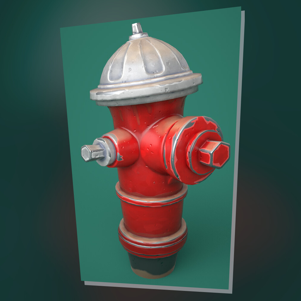 Hyperblade - Cute Red Fire Hydrant