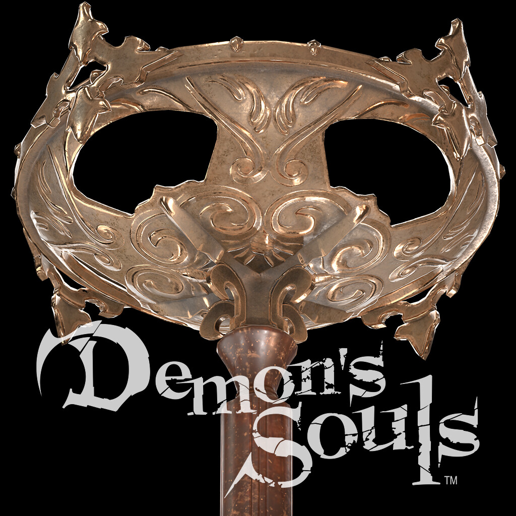 Demon's Souls Tall Brazier