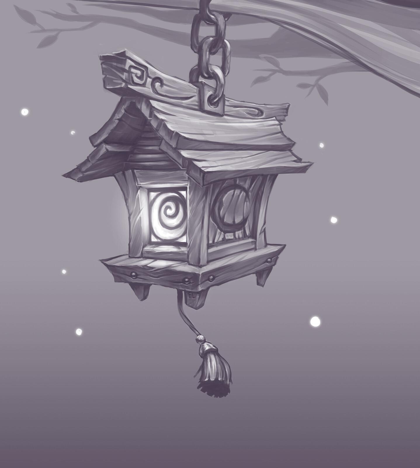 WoW Fan Concept: Night Elf Lantern