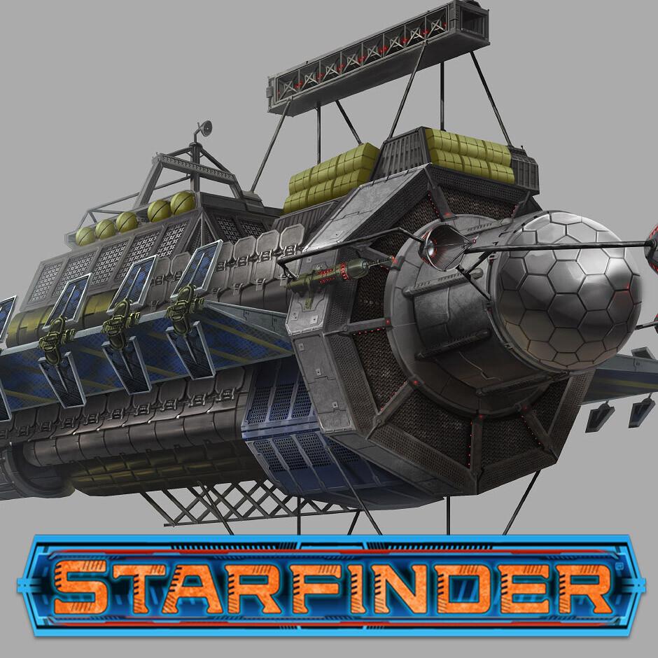 More Starfinder Ships