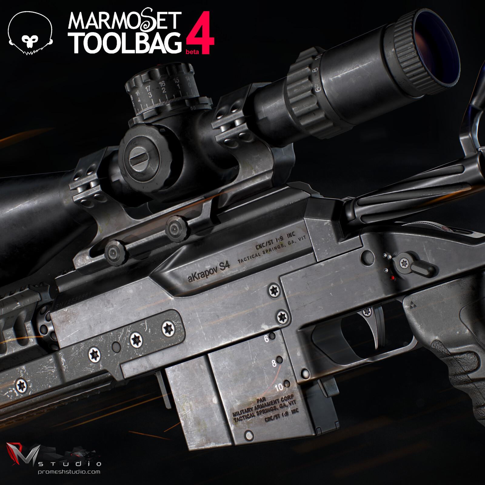 PMS aKrapov S4 Sniper Rifle