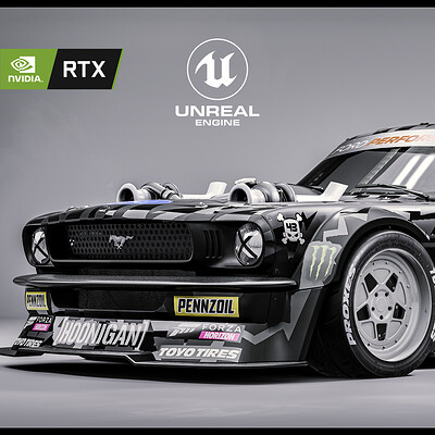 "Ford ""HOONICORN"" Mustang - RTX Studio Lighting"