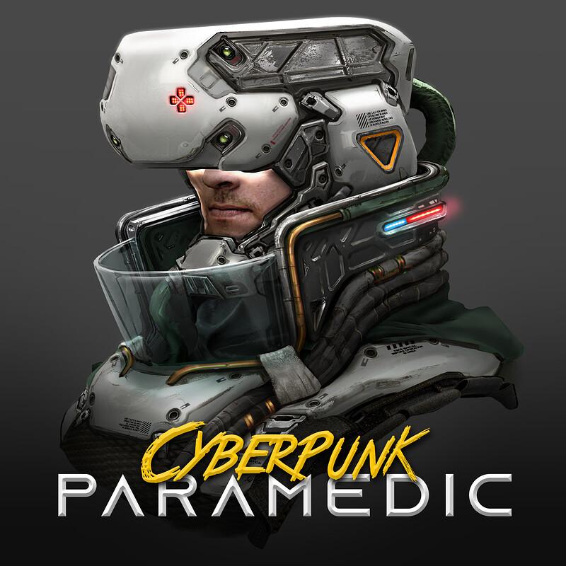 Cyberpunk Paramedic