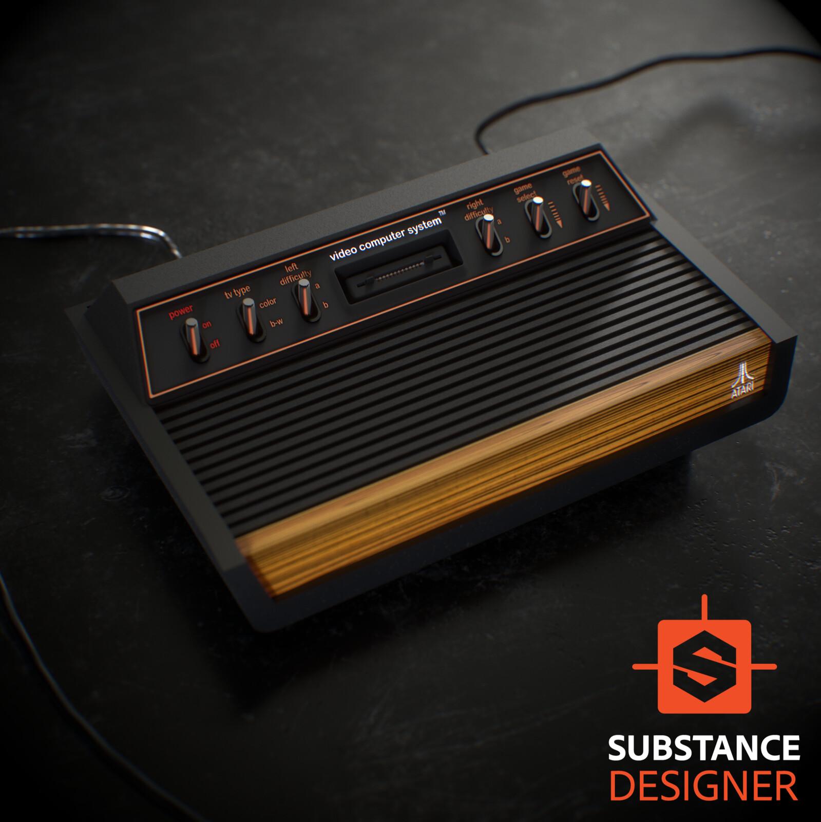 Atari 2600 - No Modeling Needed