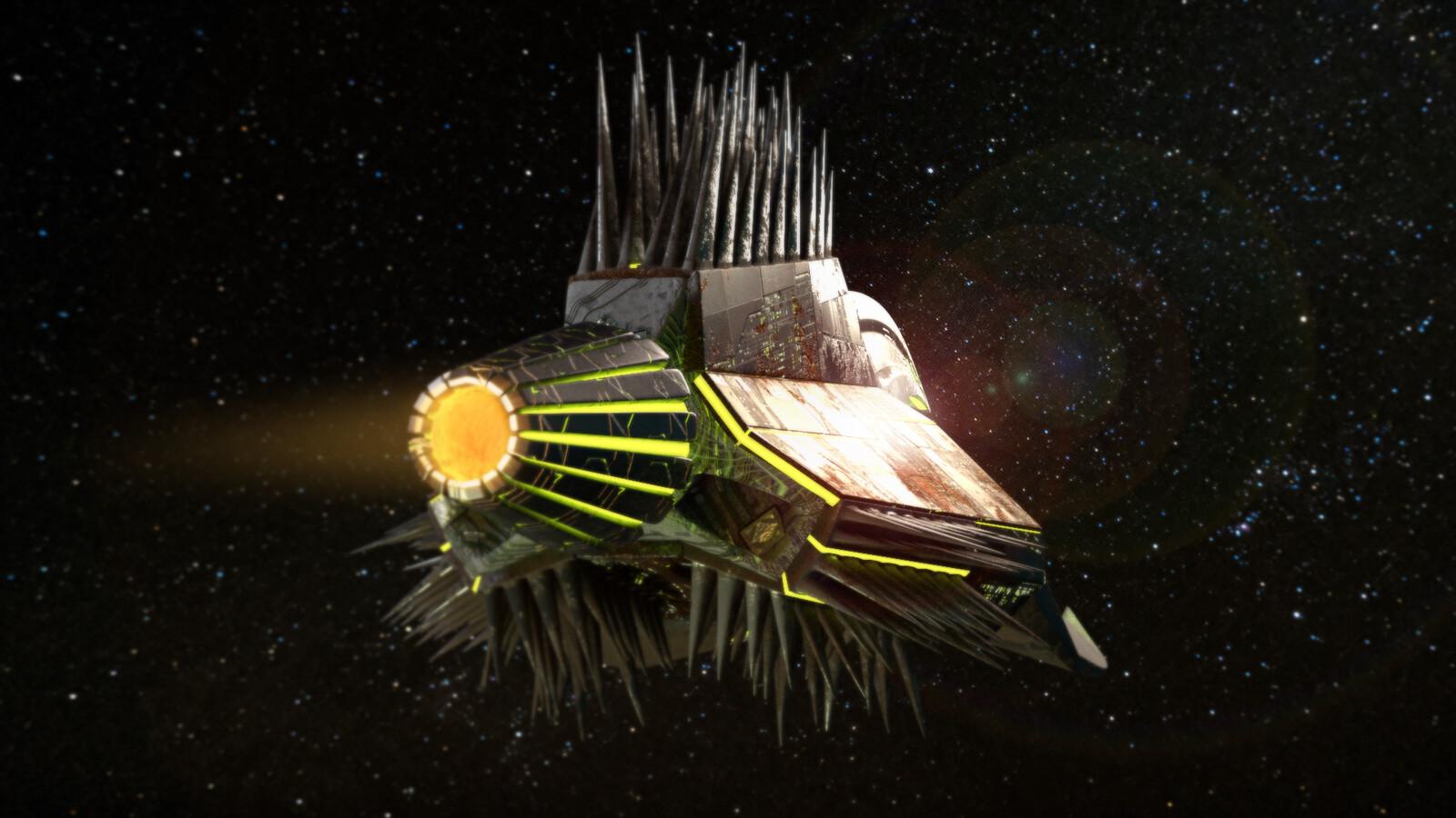 Korr Attack Ship