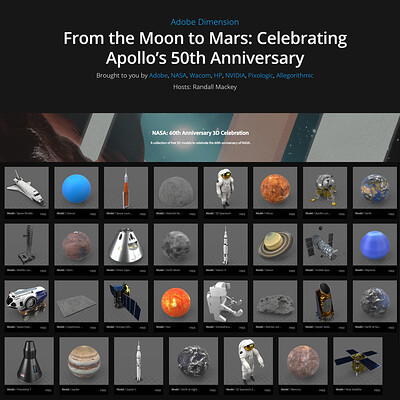 Adobe - From the Moon to Mars: Celebrating Apollo's 50th Anniversary