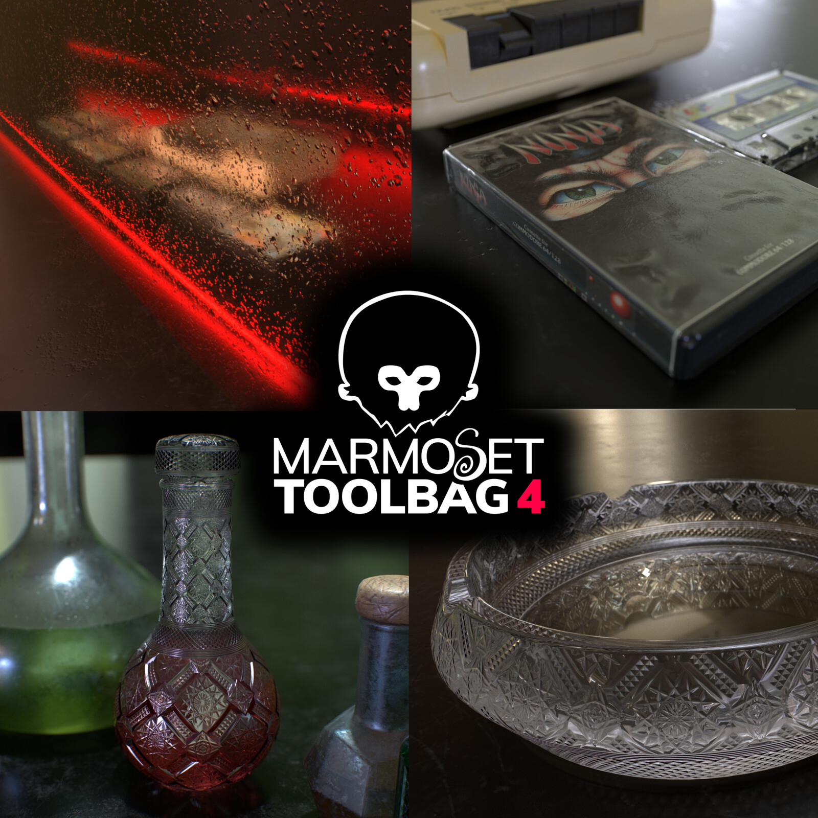 Refractive Materials with Marmoset Toolbag 4