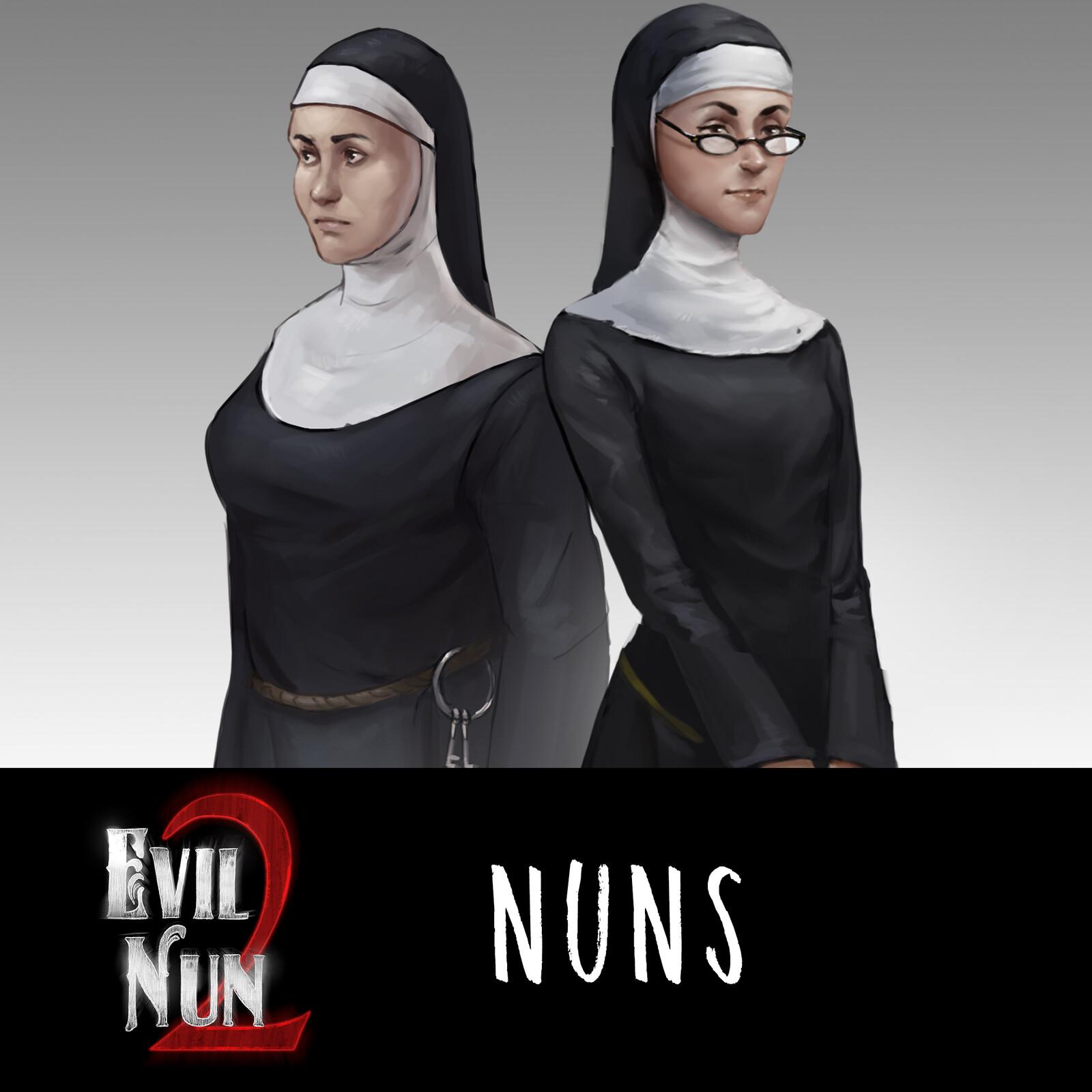 Sister Madeline & Sister Enda