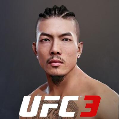 UFC 3 Character Art