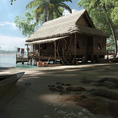 Leo aveiro leo aveiro fishermen hut thumb