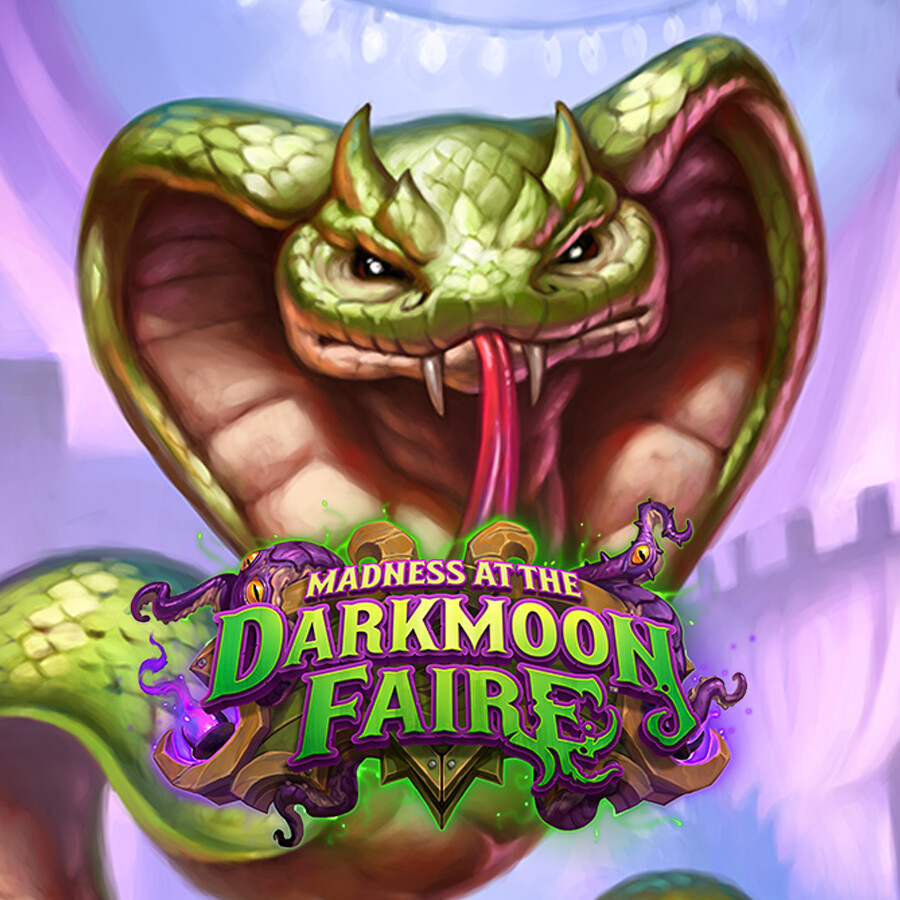 Hearthstone: Madness at the Darkmoon Faire - Dancing Cobra
