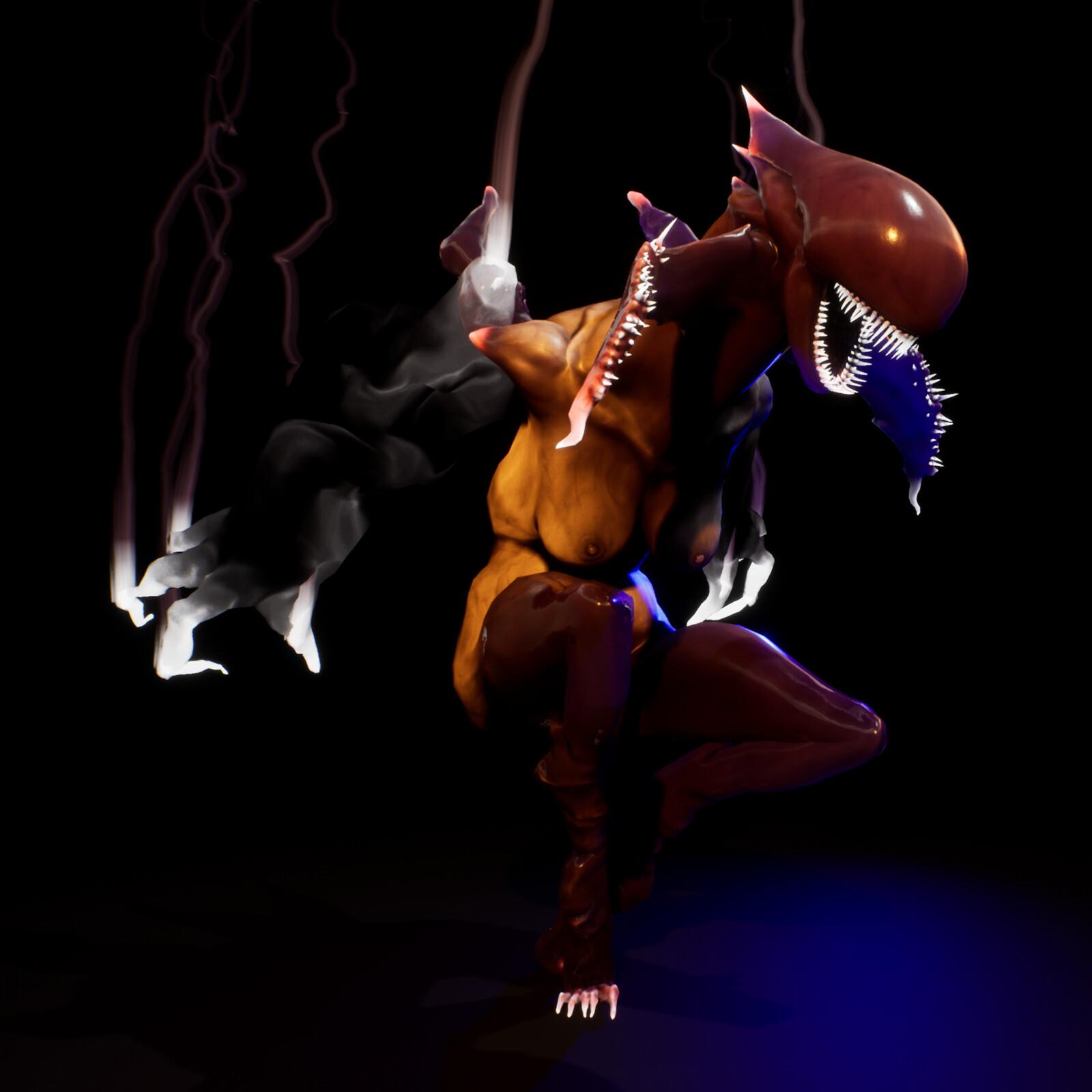 Smokey Finger - Unreal Engine 4 - Gameplay Animation