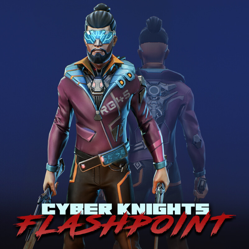 Cyber Knights: Flashpoint 3D Characters (#2)