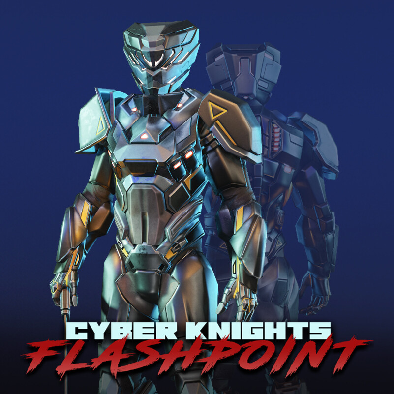 Cyber Knights: Flashpoint 3D Characters (#3)