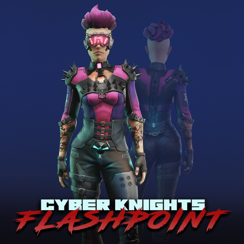 Cyber Knights: Flashpoint 3D Characters (#1)