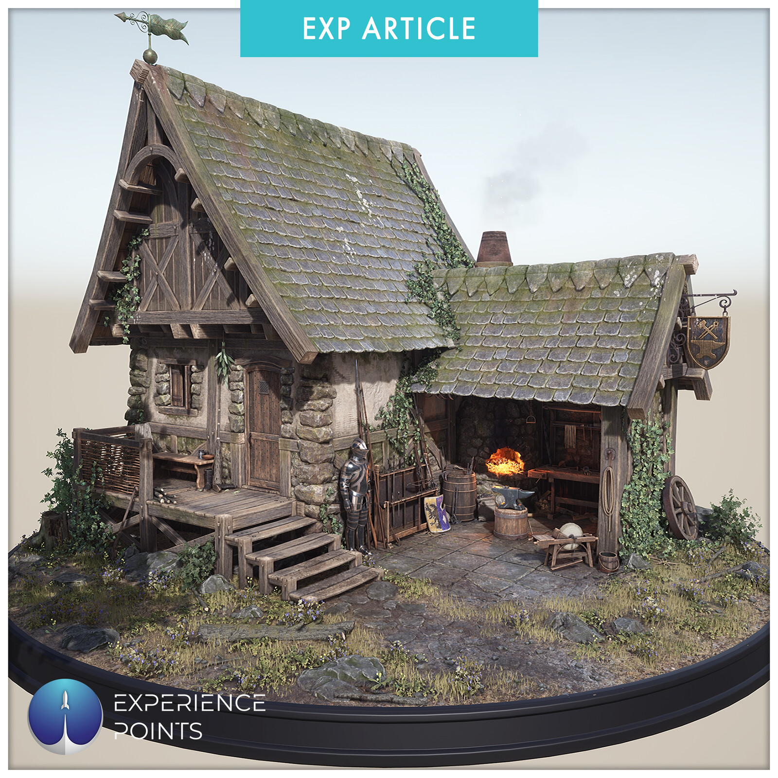 Experience Points Article: Blacksmith Shop Revisited