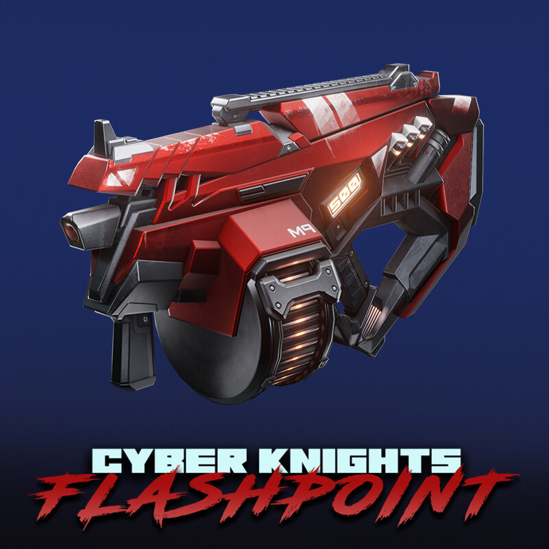 Cyber Knights: Flashpoint - Weapons (Pack #1)