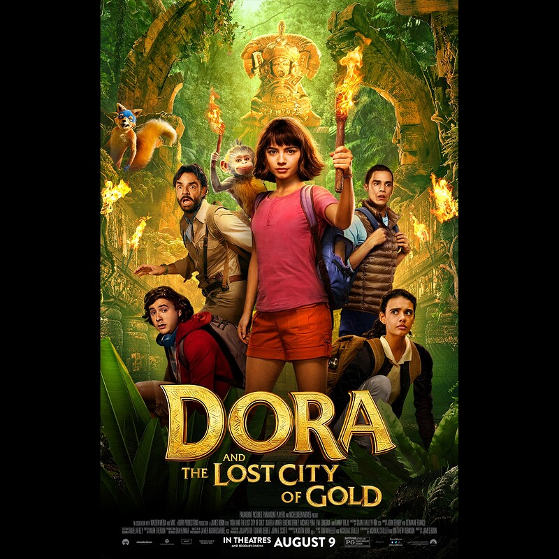 Dora and The Lost City of Gold - Lighting