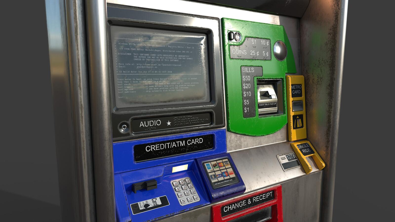 New York Subway Ticket Vending Machine