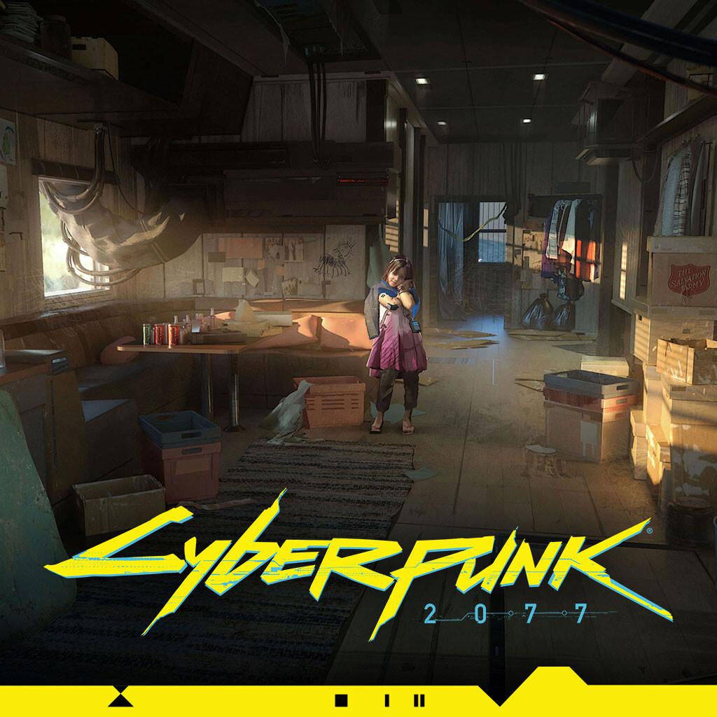 Cyberpunk 2077   Trailer house