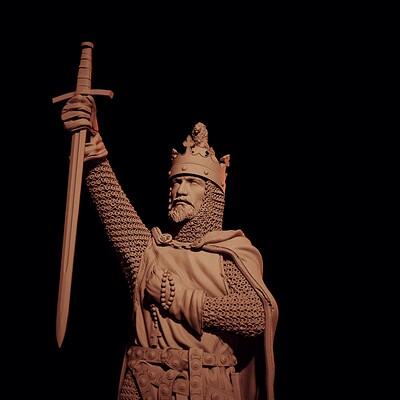 Michal orzechowski michal orzechowski outremer06 the king render009 viewport