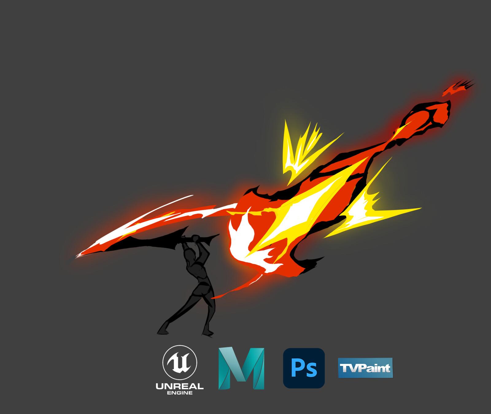 Furnace Blade   VFX + Breakdown   UE4 Niagara