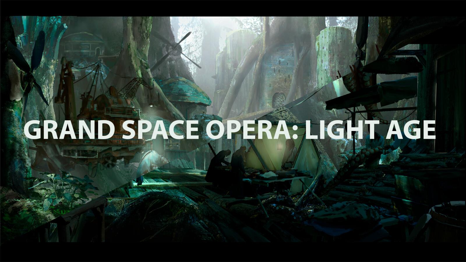 Grand Space Opera: Light Age Challenge