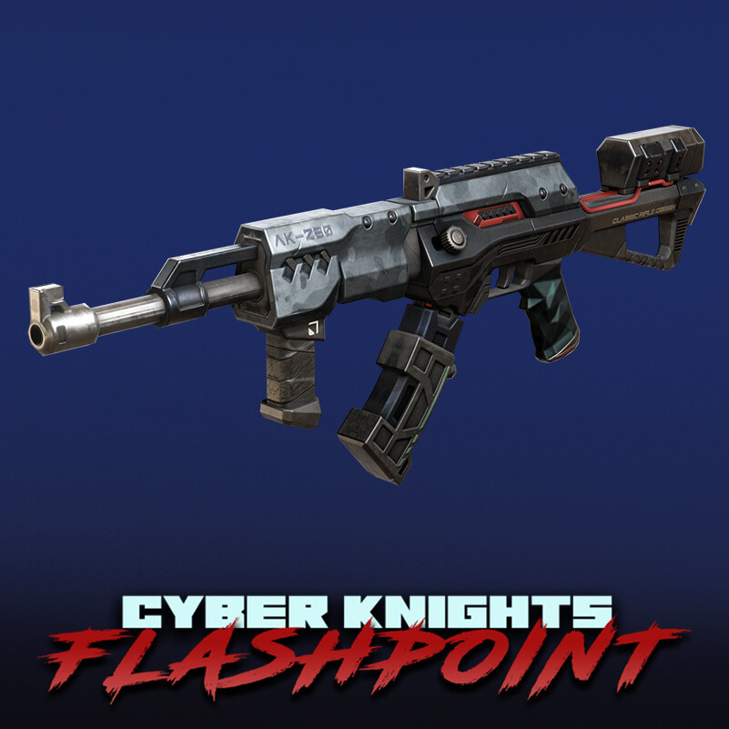 Cyber Knights: Flashpoint - Weapons (Pack #3)
