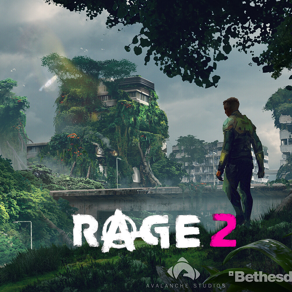 Rage 2 Overgrown