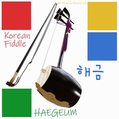 Michael klee michael klee haegeum korea music 3d model by michael kleethumbnail