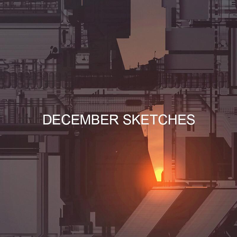 December sketches