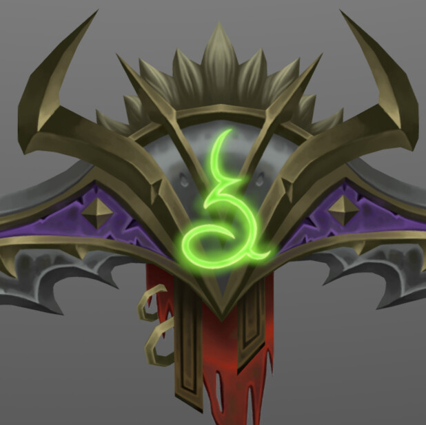 3D Demon Hunter Warglaive
