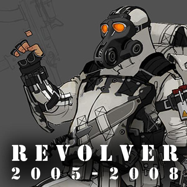 Revolver - ISA Soldier